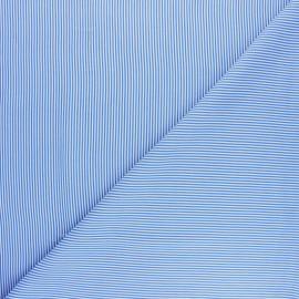 Tissu viscose Vahiné - bleu marine x 10cm
