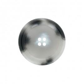 Bouton polyester Minéral - brume