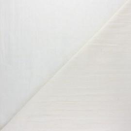 Tissu Voile de coton broderie anglaise Hangleton - blanc x 10cm