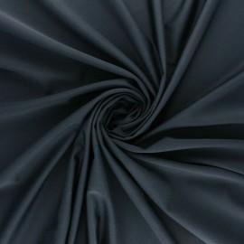 Tissu Lycra Maillot de bain uni - bleu nuit x 10cm