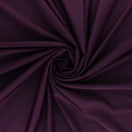 Plain Swimsuit Lycra fabric - plum purple x 10cm