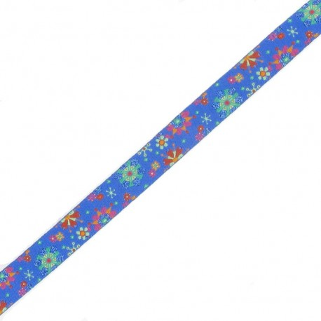 Spangled ribbon, Flowers Wonders - Royal Blue