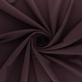 Tissu Lycra Maillot de bain uni - lie de vin x 10cm