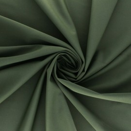 Tissu Lycra Maillot de bain uni - vert kaki x 10cm