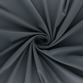 Tissu Lycra Maillot de bain uni - gris x 10cm