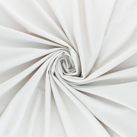 Tissu Lycra Maillot de bain uni - écru x 10cm