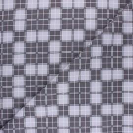 Tissu coton Funny Doctor Coeur - Vert x 10cm