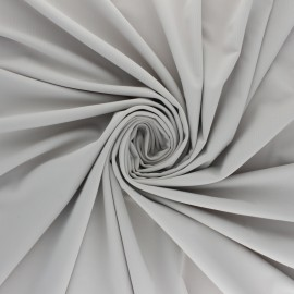Tissu Lycra Maillot de bain uni - gris perle x 10cm