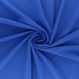 Tissu Lycra Maillot de bain uni - bleu royal x 10cm
