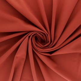 Tissu Lycra Maillot de bain uni - tomette x 10cm