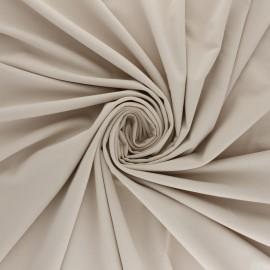 Tissu Lycra Maillot de bain uni - argile x 10cm