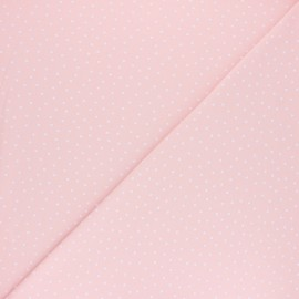Poppy Jersey fabric - Pink Dotty x 10cm