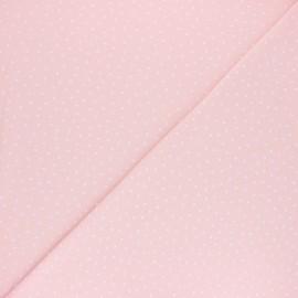 Tissu jersey Poppy Dotty - Rose x 10cm