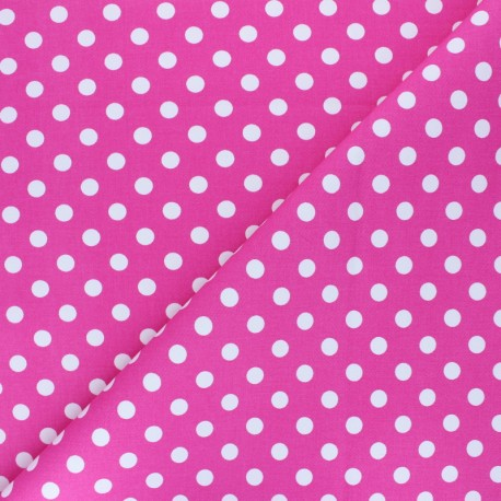 Dotted Lycra Gabardine Fabric - navy blue x 10cm