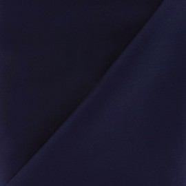 Satiny Lycra Gabardine Fabric - Night Blue x 10cm