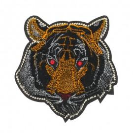 Iron-on patch - Velvet Tiger