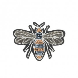 Ecusson Thermocollant Velvet Bee  - cuivre