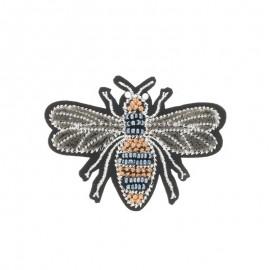 Iron-on patch - Velvet Bee