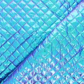 Tissu matelassé métallique Wonka - orange x 10cm