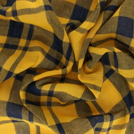 Tissu viscose tissé Tilly - Curcuma x 10cm