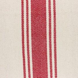 ♥ Coupon 290 cm X 155 cm ♥ Tissu coton tissé Harry rouge