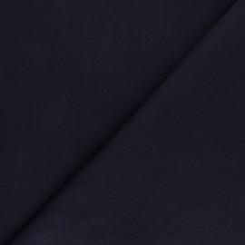 ♥ Coupon 40 cm X 150 cm ♥ Elastane Denim fabric Unico - dark blue