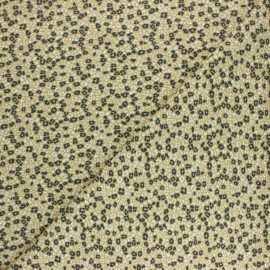 Cotton Jersey fabric - Grey Lokori x 10cm