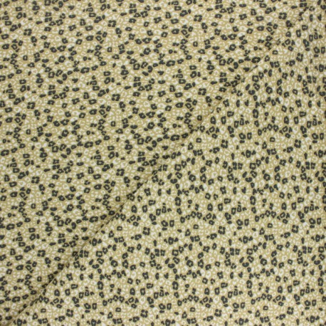 Cotton Jersey fabric - Grey Lokori x 10cm