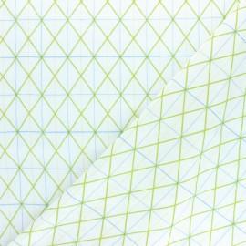 Tissu Double Gaze de coton Rico Design - Millefleurs - rose x 10cm