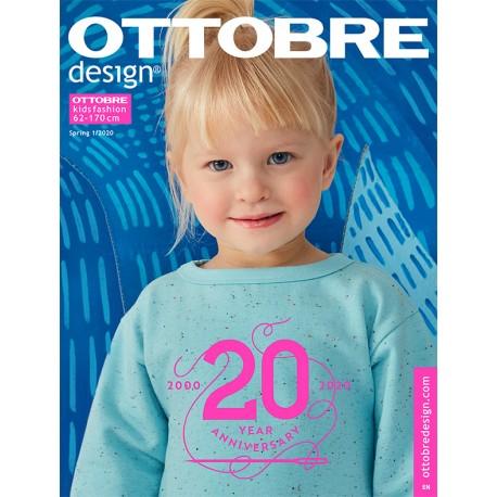 Ottobre Design Kids Sewing Pattern - 1/2020