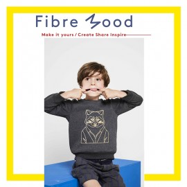 Jumper Kids Sewing Pattern - Fibre Mood Phoenix
