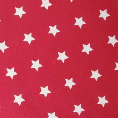 Tissus pas cher tissu toiles rouge x10cm - Tissus rouge pas cher ...