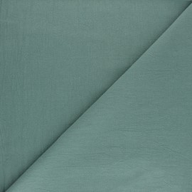 Washed cotton fabric - sky blue Lali x 10cm