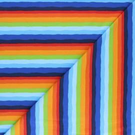 Tissu jersey Rainbow shade - Multicolore x 10cm