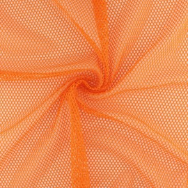 Tissu filet Vrac - Abricot x 10cm