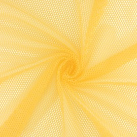 Mesh fabric - Sun yellow Vrac x 10cm