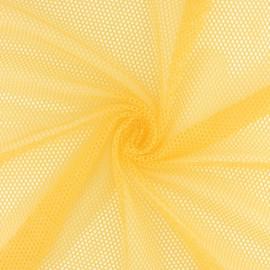 Tissu filet Vrac - Jaune Soleil x 10cm