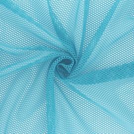 Mesh fabric - Aqua Vrac x 10cm