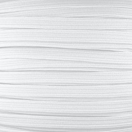 Facemask elastic - White x 1m