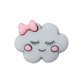Bouton polyester Happy Cloud