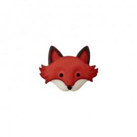Child Button - Little Fox Face