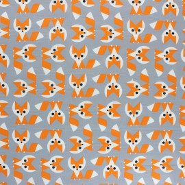 Cloud 9 cotton fabric - Ed Emberley Favorites Fox x 10 cm