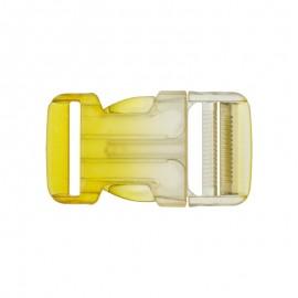 Boucle Banane dégradé translucide - jaune