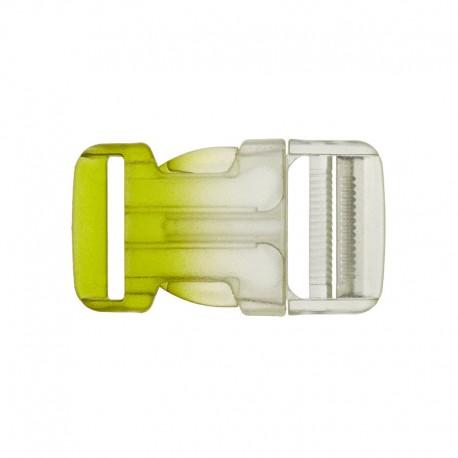 Side Release Buckle - Transparent/green