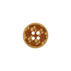 20 Chevrons les boutons en métal Diamètre 2 cm