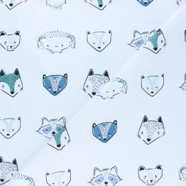 Tissu jersey AGF Pine Lullaby - Furries Cool x 10cm