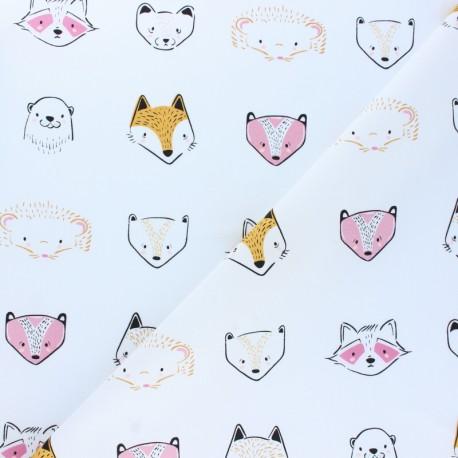 Tissu jersey AGF Pine Lullaby - Furries Sweet x 10cm