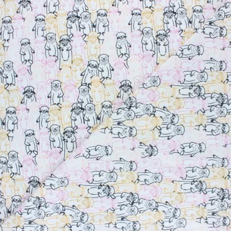 Tissu jersey AGF Pine Lullaby - Snuggery Warmth x 10cm