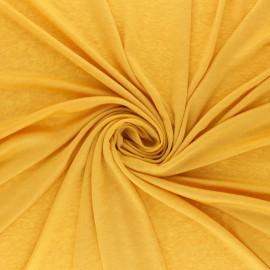 Lurex Jersey Fabric - Mustard yellow Glitter x 10cm