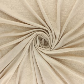Lurex Jersey Fabric - Sand Glitter x 10cm
